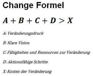 Change Formel